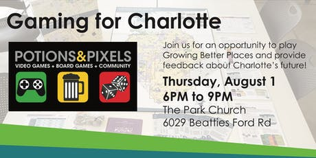 POTIONS & PIXELS - Gaming for Charlotte tickets