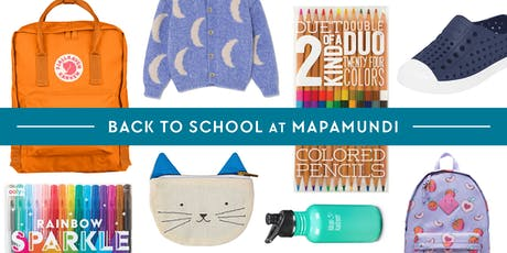 Back to School at Mapamundi Kids! tickets