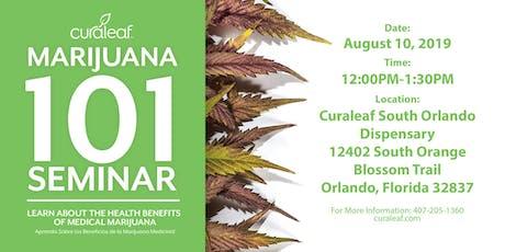 MMJ 101 at Curaleaf South Orlando tickets