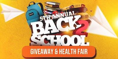 5th Annual Back 2 School Health Fair & Giveaway