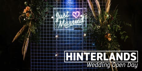 Wedding Open Day At Hinterlands tickets