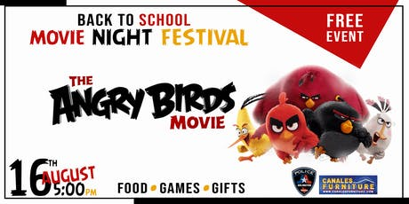 Angry Bird Back to School Movie Night Fest (Arlington) tickets