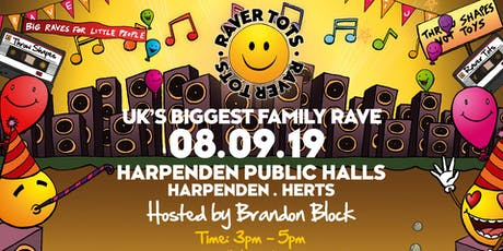 Raver Tots Harpenden with Brandon Block tickets