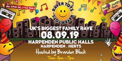 Raver Tots Harpenden with Brandon Block