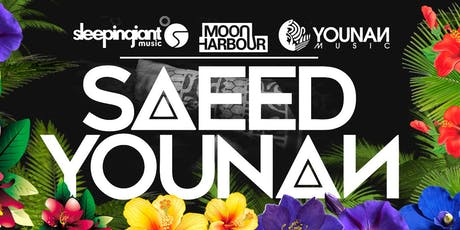 "Bauhaus Houston Presents: Saeed Younan ""Welcome to the Jungle""  tickets"