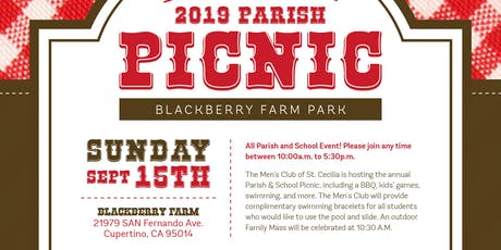 2019 St. Cecilia Parish Picnic tickets