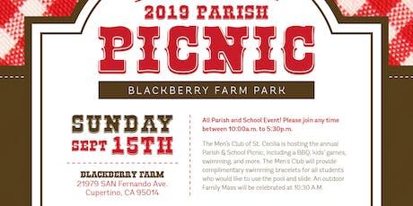 2019 St. Cecilia Parish Picnic tickets