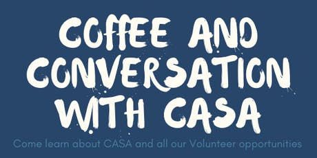 Coffee & Conversation with CASA - Morning  Session tickets