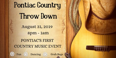 Pontiac Country Throw Down tickets