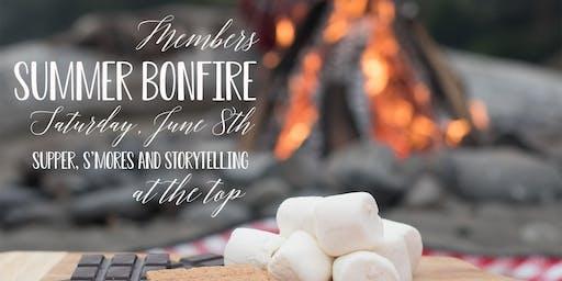 MEMBERS ONLY Summer Bonfire