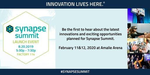 Synapse Summit 2020 Launch Event