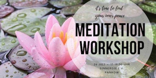 Meditation Workshop für Beginner