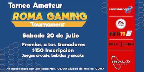 Roma Gaming Tournament entradas