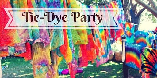 Back to School Tye Dye Party!