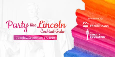 2019 Party Like Lincoln Cocktail Gala tickets