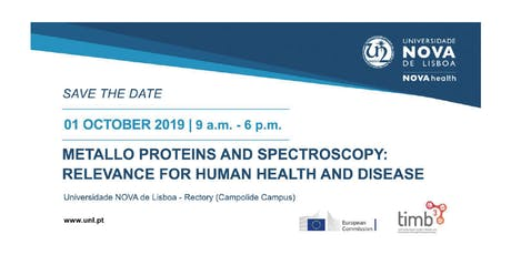 Metallo proteins and spectroscopy: relevance for human health and disease tickets