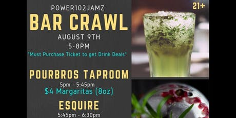 Power102Jamz Barcrawl tickets