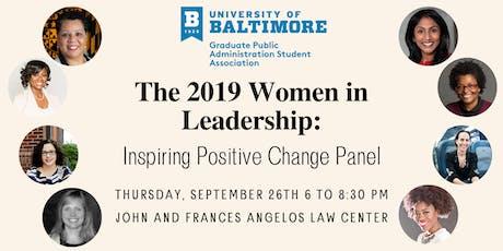 GPASA Women in Leadership: Inspiring Positive Change Panel tickets