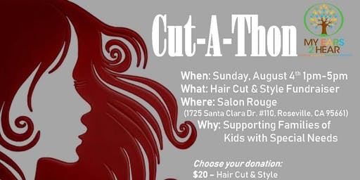 My EARS 2 Hear Cut-A-Thon
