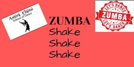 Zumba & Protein Shake tickets