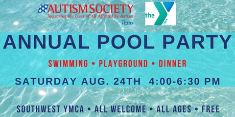 2019 Autism Society of Texas Pool Party tickets