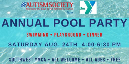 2019 Autism Society of Texas Pool Party