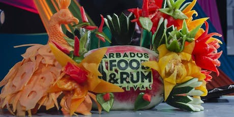 Barbados Food and RUM Festival Oct 24 to 28, 2019 tickets