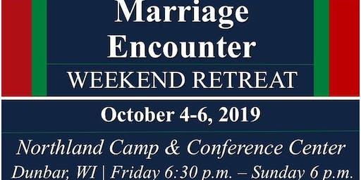 Marriage Encounter Weekend - Oct 2019
