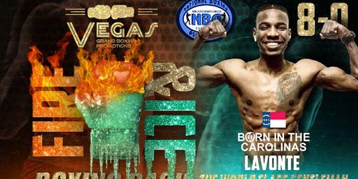 LaVonte Earley Live Pro Boxing Event 7/20/19 by Vegas Grand Boxing Promotions