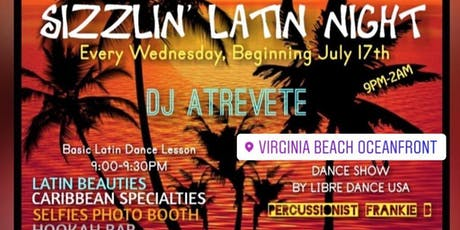 Sizzlin Latin Night tickets