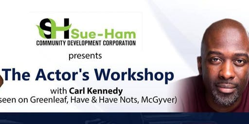 Actors Workshop with Carl Kennedy and Sue-Ham