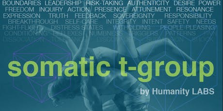 Introduction to Somatic T-Group 8/10/19 tickets