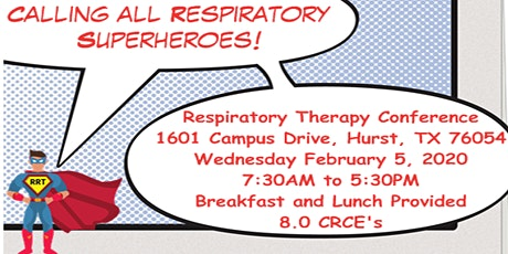 Calling All Respiratory Superheroes! tickets