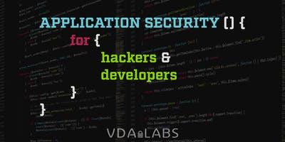 Application Security  For Hackers and Developers