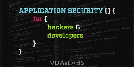 Application Security  For Hackers and Developers tickets