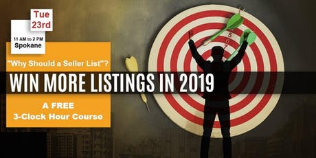 More Listings in 2019 - Join us for a FREE 3-Clock Hour Course tickets