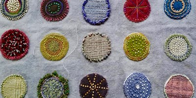 Wool Applique and Embroidery (for the Holidays?)