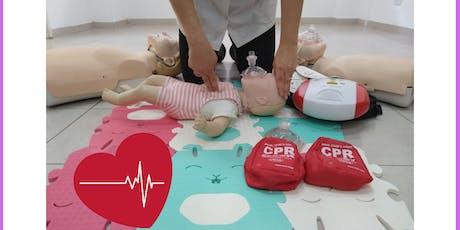 Curso de Primeros Socorros - RCP y DEA Niños y Adultos * Dra.Nora Zonis * Miércoles 7 de agosto entradas