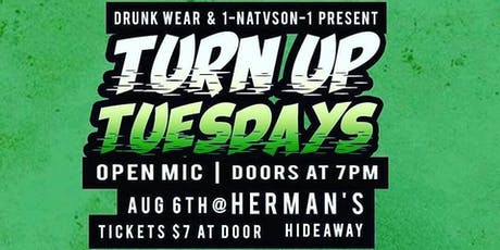 TURN UP TUESDAYS tickets