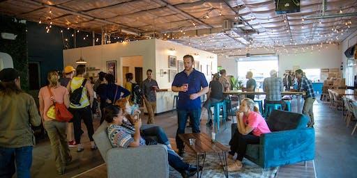 First Friday Artwalk at Wayfinder Co-op & Otero Taproom