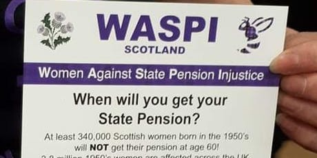WaspiScotland Meeting. Update on the WASPICampaign 2018 in Scotland  tickets