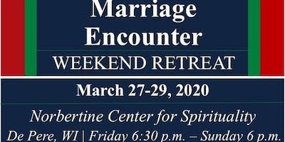 Marriage Encounter Weekend - Mar 2020