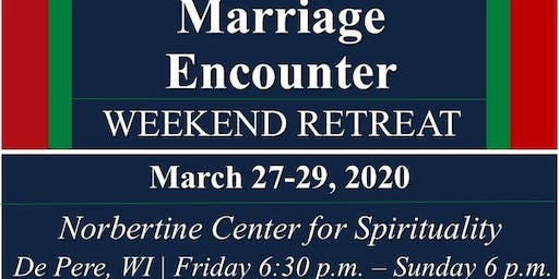 Marriage Encounter Weekend - Mar 2020