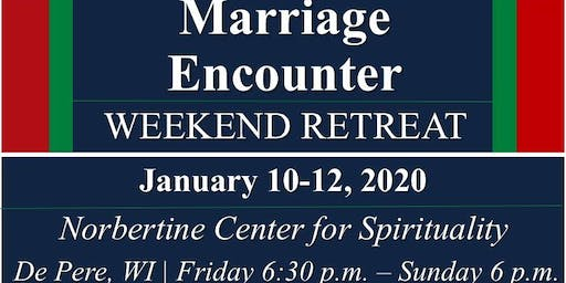 Marriage Encounter Weekend - Jan 2020