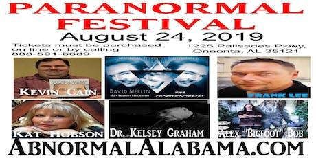 Paranormal Festival tickets