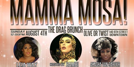 MAMA-MOSA: The Drag Brunch tickets