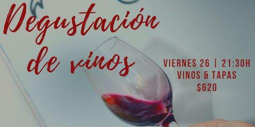 Vinos & Tapas - Degustación