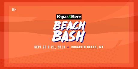 Papas Beach Bash tickets