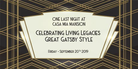 One Last Night at Casa Mia Mansion tickets