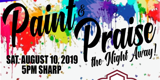 Ladies Let's Paint & Praise The Night Away!